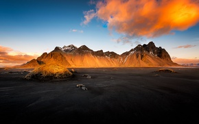 Picture light, morning, Iceland, Auster-Skaftafellssysla