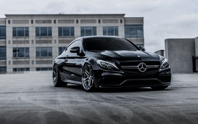 Picture Mercedes, coupe, Forged Wheels, Velos XX 2, AMG C63