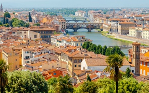 Picture city, the city, Italy, Florence, Italy, panorama, Europe, view, Florence, cityscape, travel