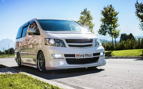 Picture Toyota, Alphard, 2004