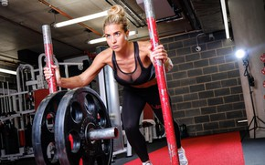 Picture Gemma Atkinson, breast, model, exercise, look, gym, weights, crossfit, gym clothes