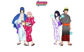 Picture game, yukata, Naruto, anime, ninja, asian, manga, Uchiha Sasuke, japanese, Haruno Sakura, Hyuuga Hinata, Naruto …
