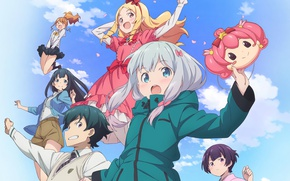Picture anime, brothers, friends, manga, japanese, bishojo, EroManga-Sensei, Yamada Elf, Izumi Masamune, mussune, Sagiri Izumi, Megumi …