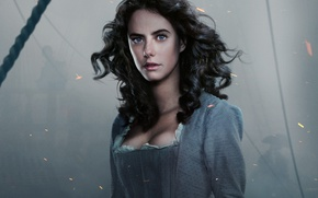 Picture fog, the film, dress, brunette, sparks, hairstyle, ropes, beauty, Pirates of the Caribbean, Kaya Scodelario, …