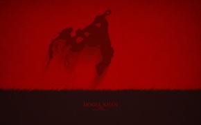 Picture Art, Dota 2, Minimalism, Axe, Mogul Khan