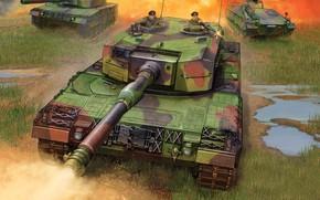 Picture Germany, Leopard 2, Leopard 2, German main battle tank