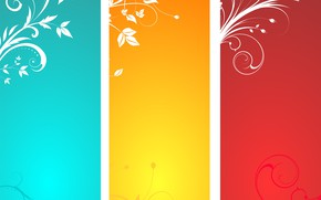 Picture abstraction, texture, Colorful, floral