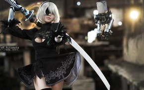 Picture cosplay, Nier Automata, 2B, No. 2 Yorha