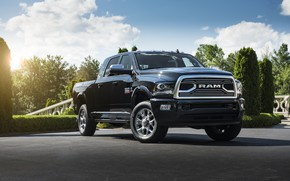 Picture Pickup, Car, Ram, 2500, Limited Tungsten Edition Mega Cab, Dodge 2018