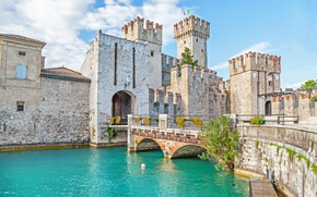 Picture city, the city, castle, Italy, Italy, panorama, Europe, view, castle, cityscape, travel, Verona, Verona, Sirmione, …