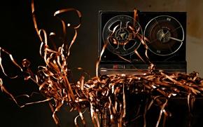 Picture music, film, tape