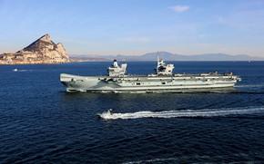 Picture the carrier, hms queen elizabeth, Gibraltar