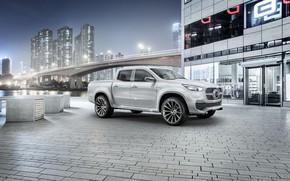Picture white, bridge, Mercedes-Benz, home, pickup, X-Class Concept