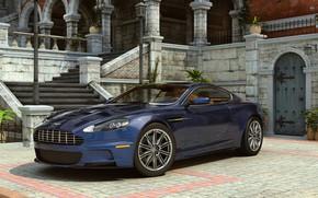 Wallpaper GT class car, dangeruss, Aston Martin, DBS