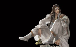 Picture fantasy, the game, money, anime, art, MAG, guy, Jianyachi L