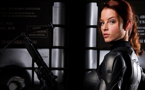 "Wallpaper armor, G.I. Joe: The Rise of Cobra, Rachel Nichols, crossbow, crossbow, Rachel Nichols, Shane ""Scarlet"" ..."
