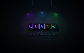 Wallpaper Adobe Creative, after effects, adobe