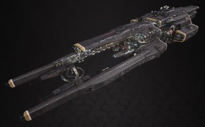 Picture transport, ship, Board, Fractured Space, Titan Defence Systems Equalizer