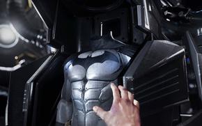 Picture game, bat, hero, suit, DC Comics, VR, Batman Arkham VR