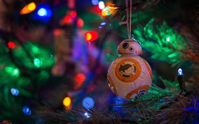 Picture mood, holiday, toy, tree, new year, garland