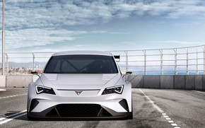 Picture front view, 2018, Seat, Cupra, E-Racer