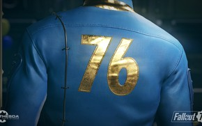 Picture The game, Figures, Back, Fallout, Bethesda Softworks, Bethesda, Bethesda Game Studios, Bethesda, Fallout 76