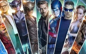 Wallpaper actors, Legends of tomorrow, costumes, DC's Legends of Tomorrow, movies, the series