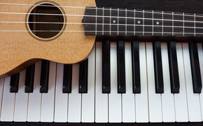 Picture Music, Guitar, Piano