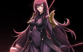 Picture girl, anime, art, character, Fate Grand Order