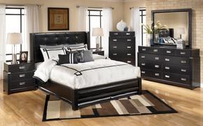 Picture furniture, bed, interior, window, bedroom