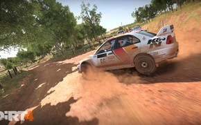 Picture car, game, Dirt, race, speed, pilot, fast, Dirt 4
