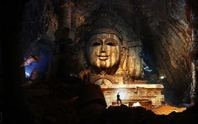 Picture cave, caver, The Secret temple of Shiva, The Way to the secret temple, Night Watch …