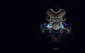 Picture rendering, fiction, art, The Clairvoyant, Santiago Betancur