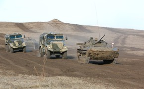 Picture military, weapon, army, tank, armored, montain, military vehicle