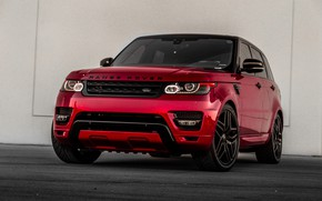 Picture Land Rover, Range Rover, Sport, Crimson, Sight