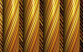 Picture background, gold, thread