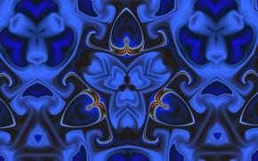 Picture flower, pattern, color, fractal