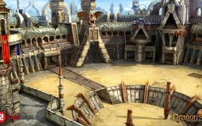 Picture coliseum, arena, dragon eternity