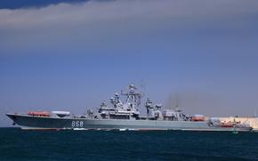 Picture ship, The Black Sea Fleet, guard, project 1135-M, Inquisitive