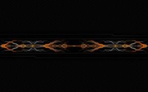Picture background, plasma, symmetry, plasma beam