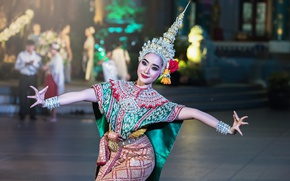 Wallpaper thailand, beautiful, Thailand, bending, light, girl, beautiful, girl, dance, Thailand, light, fingers, pose