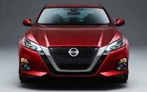 Picture Nissan, front view, Altima, Platinum, 2019
