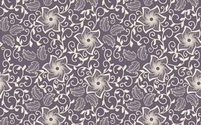 Wallpaper seamless, background, ornament, texture, texture, ornament, flower, pattern