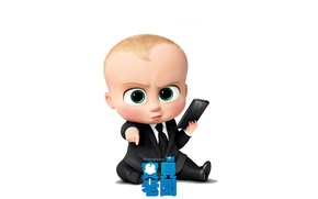 Picture cinema, movie, baby, film, suit, tie, kanji, Dreamworks, The Boss Baby