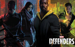 Picture Daredevil, tv series, Netflix, Matt Murdock, Luke Cage, Danny Rand, Iron Fist, Charlie Cox, Krysten …