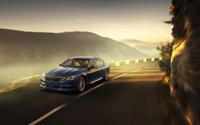 Picture road, speed, BMW, xDrive, Alpina, 2017