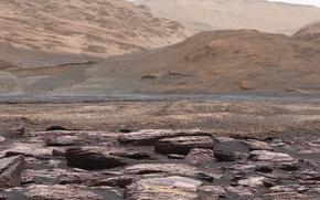 Wallpaper NASA, Curiosity, Mars, photo