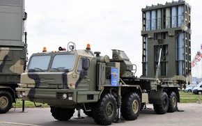 Picture self-propelled, Knight, SAM, S-350, BASES, launcher, stable position