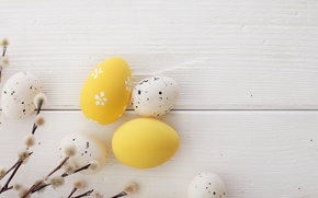 Picture Easter, wood, Verba, spring, Easter, eggs, decoration, Happy, the painted eggs