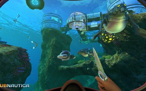 Picture station, knife, Subnautica Released Today